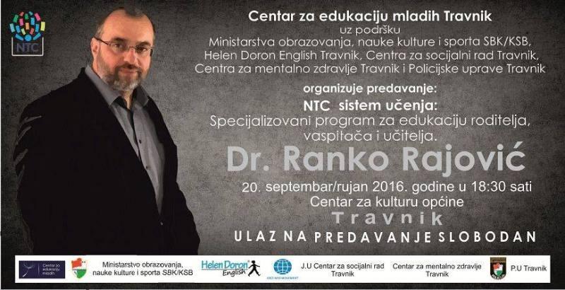 DR. RANKO RAJOVIĆ U TRAVNIKU