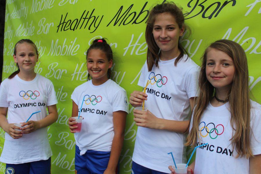 OLYMPIC DAY UZ HEALTHY MOBILE BAR